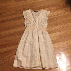BCBG Maxazria cream/ivory dress size extra small